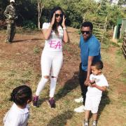 Teddy Afro family (photo)