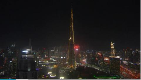 The 2017 Dubai - Burj Khalifa New Year Fireworks